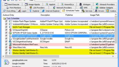 Photo of Sysmon 8.0 and Autoruns 13.90 updated to include Rule Tagging and fixes WMI path parsing