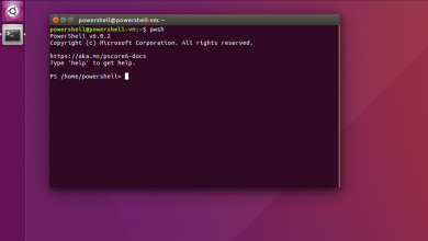 Photo of Microsoft's PowerShell Core is Now Available as a Snap Package on Linux Distros