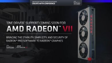 Photo of Support For Radeon VII Inbound as AMD Plans to Bring Radeon Pro Software Support