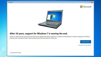 Photo of Microsoft Is Reminding Windows 7 Users To Upgrade Their Systems As End Of Support Notifications Roll Out