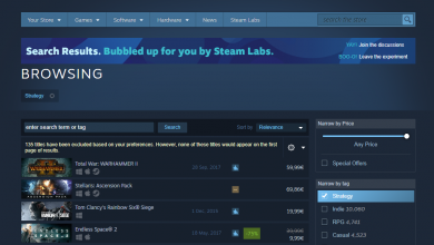 Photo of Steam Weekly Roundup: Valve Brings Robust Search Features, Increased Adoption Of AMD & Windows 10
