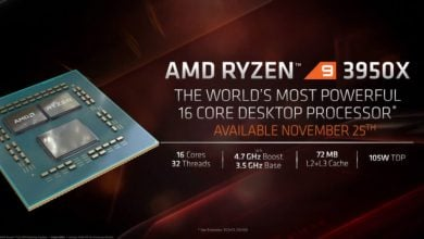 Photo of With The Ryzen 9 3950X AMD Brings a 16 Core CPU For The Mainstream Market