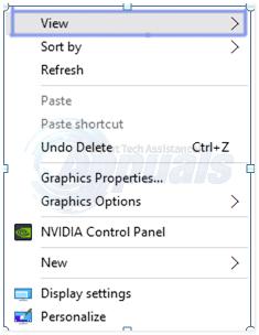 desktop icons missing 1