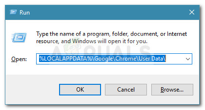 Opening the location of the Default Chrome profile