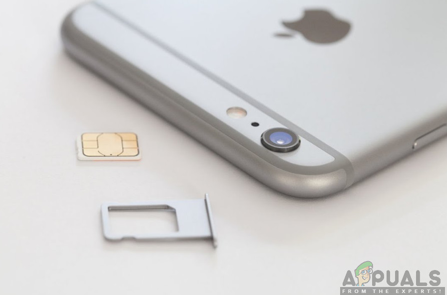 Checking iPhone's SIM Card