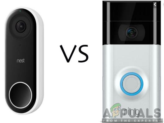Nest Hello vs Ring Video Doorbell