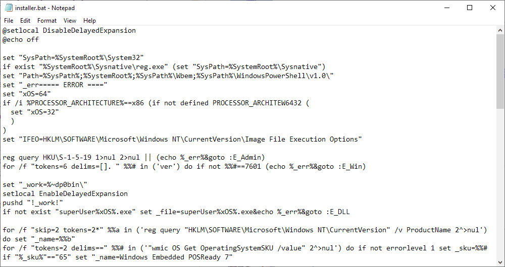 Windows 7 bypass security updates checks