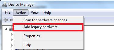 Legacy Hardware