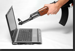 réparation d'ordinateur portable