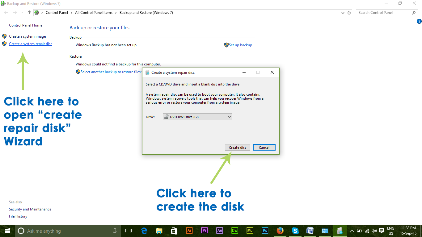 reset windows 7 password without any software