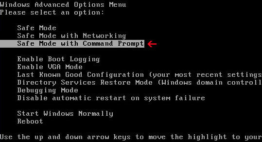 safemodewithcommandprompt