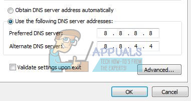 chrome dns problems