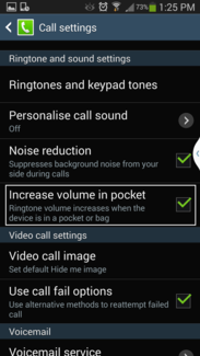 increase volume in pocket