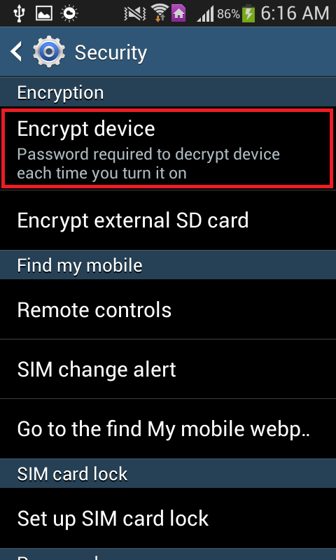 encrypt device
