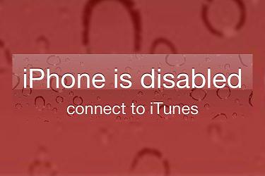 iPhone ist deaktiviert