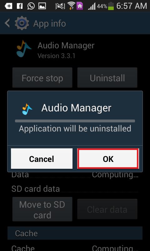 suppression de virus android6