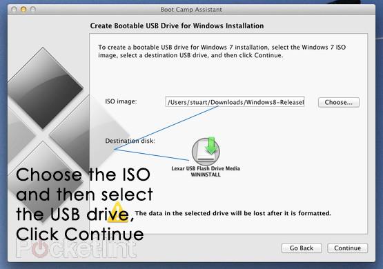 bootfähiges USB-Laufwerk für die Windows-Installation