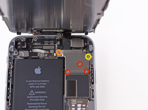 vibrator motor replacement iphone 6-6
