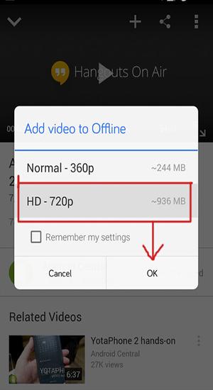 vidéos hors ligne youtube3
