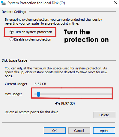 system restore in windows 10-3