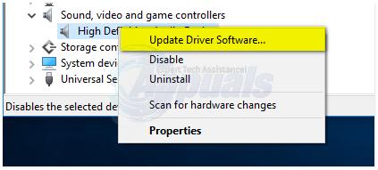 generic audio driver detected