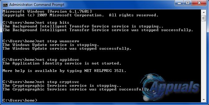 Erreur 0x80070005 - 0x90002 - 2