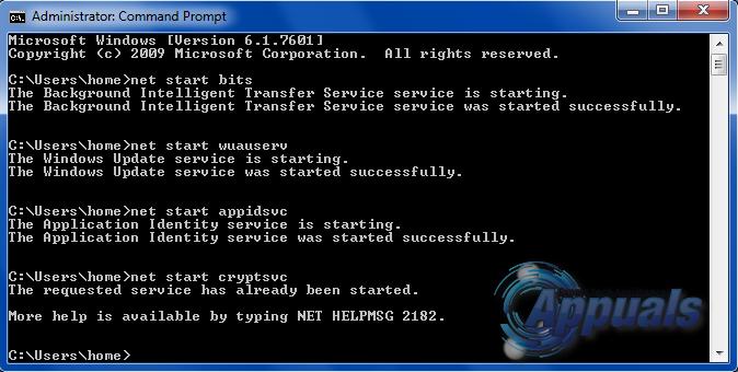 Erreur 0x80070005 - 0x90002 - 4