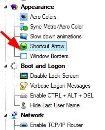 shortcut arrow fix-2