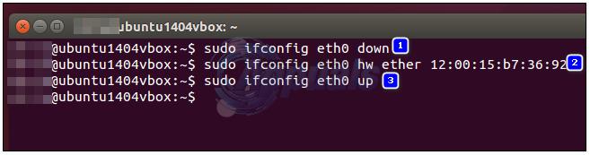 change mac address linux-2