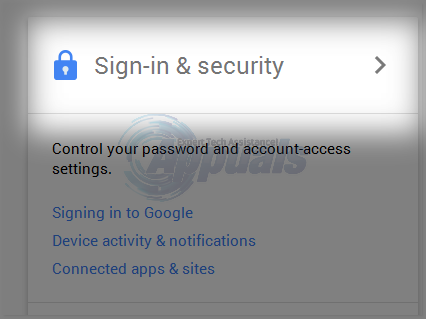 gmail password