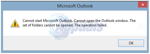 Fix: Outlook Error