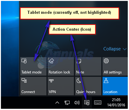 tablet mode - 1