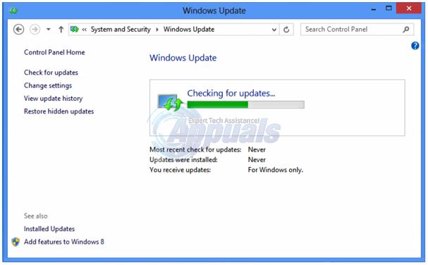 windows 8 updates