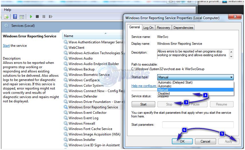 windows error reporting - 2