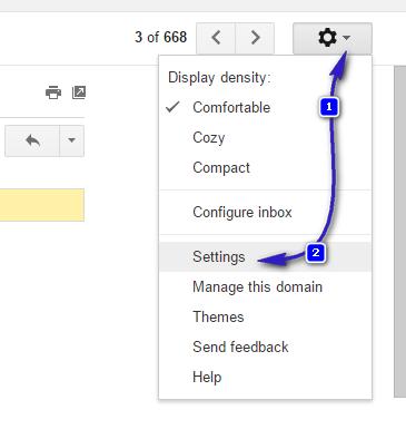 gmail block list