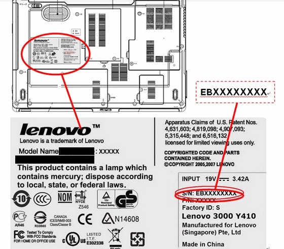 How to locate your LENOVO Serial Number - Appuals com