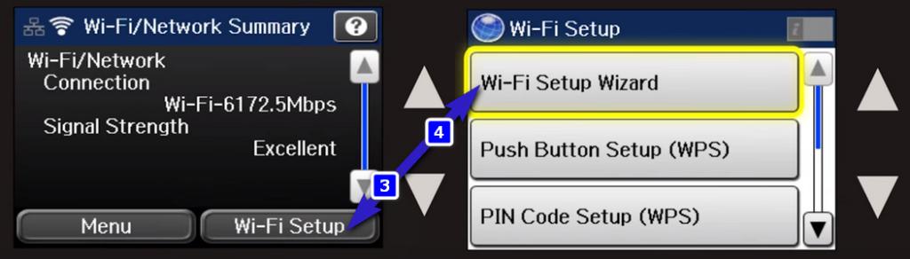 wf 3640 wifi setup