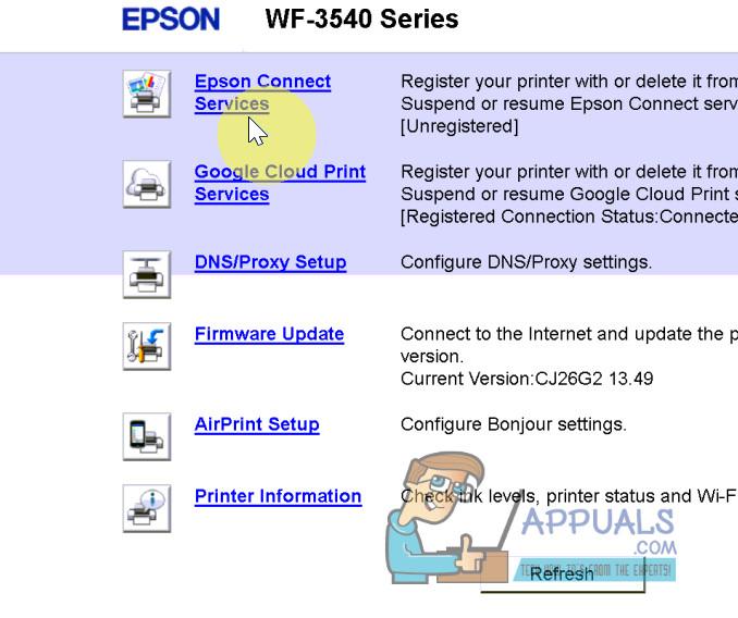 epson connect service