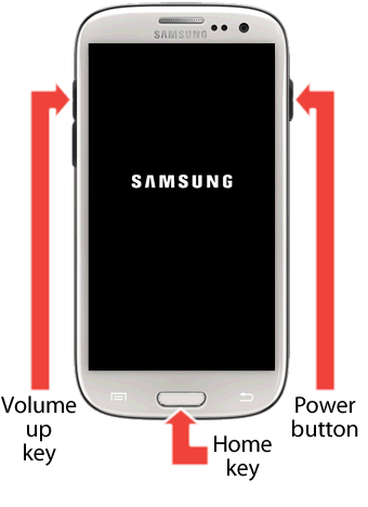 samsung power volume up1