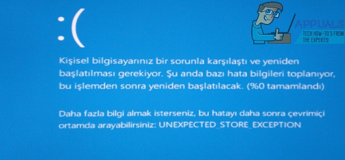 Solved Unexpected Store Exception In Windows 10 Appuals Com