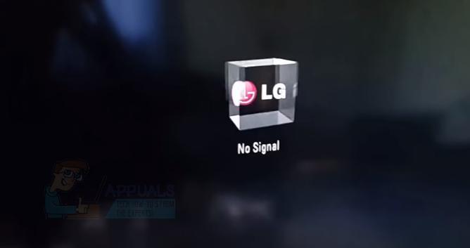 no signal monitor