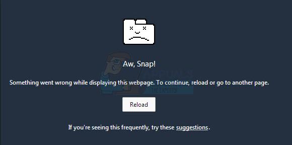 aw-snap-error
