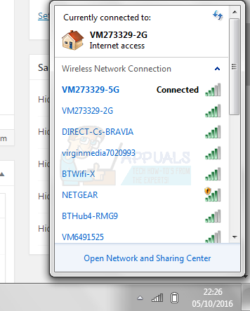 How to Connect to 5GHz Wifi on Windows 7/8 and 10 - Appuals com