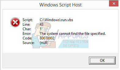 How to Fix Windows Script Host Errors on Startup - Appuals com