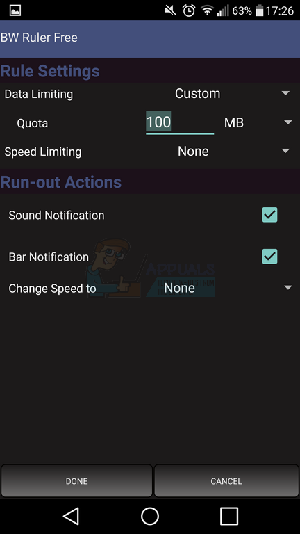 ollie-settings-page