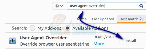 user-agent-overrider