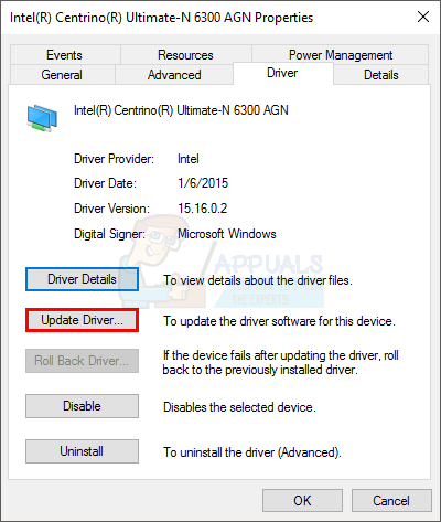 how to fix the semaphore timeout period has expired 0x80070079you will be able to see the full name of the network adapter and its driver version if you are unsure whether the driver is latest or not, click update