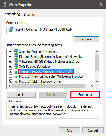 Fix: Wifi doesn't have a Valid IP Configuration - Appuals com