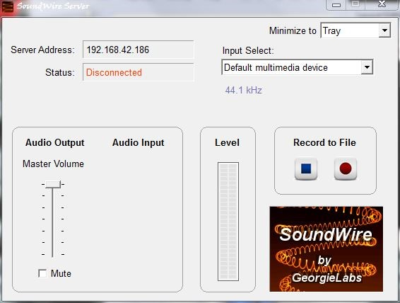 stream audio record