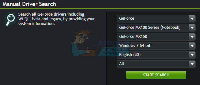 geforce drivers wont download